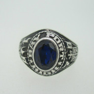 Sterling Silver Bay Port High School Class 1978 Ring Size 5