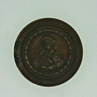 Antique 1892-1893 Christopher Columbus Souvenir World's Columbian Exposition Chicago Medal (600954)