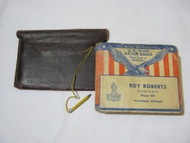 U.S. War Ration Books with Pouch