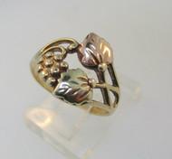 10k Black Hills Gold Ring Size 6