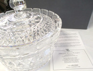 "Waterford Crystal Millennium Covered Centerpiece ""Father Time""*"