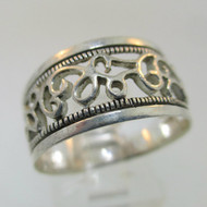 Sterling Silver Ivy Ring Size 8.75