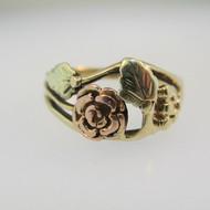 10k Black Hills Gold Ring Size 5