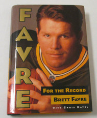 FAVRE For The Record by Brett Favre and with Chris Havel ***