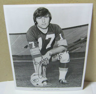 Jerry Tagge #17 Green Bay Packers Autograph on Photo