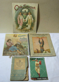 Baseball Rumford Dainties Draught of Fishes  Legend of Lilac Book Lot