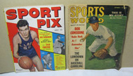Sports World Sept 1949 Pee Wee Reese Sport Pix Macauley Magazine