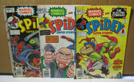 Spidey Super Stories #18 #21 #23 Marvel Comic Lot of 3