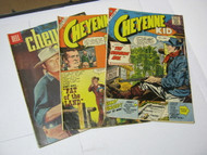 Cheyenne Kid & Cheyenne Dell & Charlton Publication Comic Books