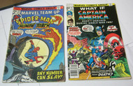 Captain America #5 Spiderman and Human Torch #39 Marvel Comic