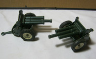 Tin Toy Military Anti-Aircraft Cannon Made in Japan