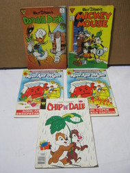 Kool-Aid Man Chip n Dale MIckey Mouse & Donald Duck Comic Lot