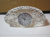 Waterford Crystal Quartz Mantel Clock
