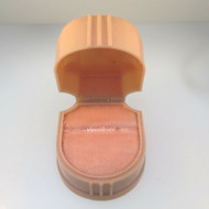 Vintage Ladies W & S New York Baby Pink Plastic Ring Box Empty Made in U.S.A.