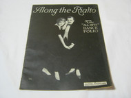 Along the Rialto Early Vintage Music Book Dance Folio