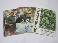 1975 & 1978 Green Bay Packers Media Guide & 1978 Prospectus