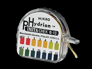 Hydrion pH Test paper 0-13 pH