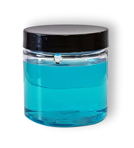 4 oz Clear PET Jar, Clear PET Jar, 4oz Jar, Jar 58/400