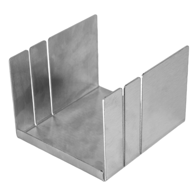SOAP MITER BOX Stainless Steel soap miter box Cut soap with stainless steel miter box
