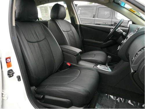 Altima Clazzio Seat Cover All Black Leather