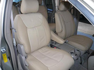 Quest Clazzio Seat Cover All Beige Leather