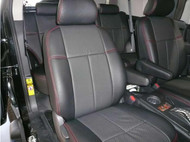 FJ Cruiser Clazzio Seat Cover Black/Black/Red Front Seats