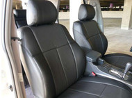 Toyota 4Runner Clazzio Seat Covers - All Black Front Seats