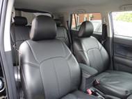 All Black Leather Scion xB Clazzio Seat Cover