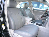 Toyota Camry Clazzio Seat Covers All Grey Front Seats