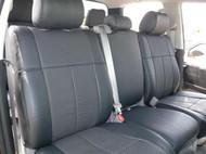 Tundra Clazzio Seat Cover All Black Leather