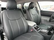 Dodge Magnum - Clazzio Seat Cover - All Black Front