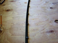 Belt Strips with clips are often referred to as Cat Whiskers because in the earlier years the edge's were frizzy. These come with the exact same clip design as the original equipment from the factory, and because of the way the clips mount to the rubber we do not ship with other items that way they can retain their factory clips.