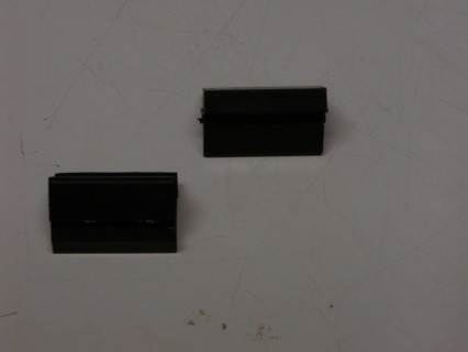 Rubber Hood Bumpers found on the fenders, 2 on each side, these come in SETS