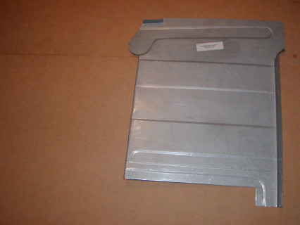 This is the right side floor pan for 1954-60 Trucks to include Town Wagon and Town Panel. this is the passenger side.