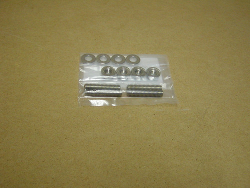 Carb stud and nut kit for the Small Block 4 barrel carbs, to replace the bolts!
