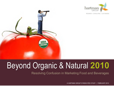 Beyond Organic and Natural
