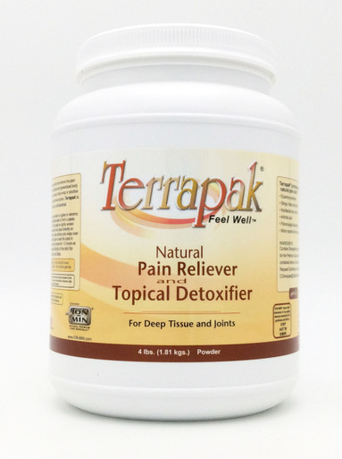 Terrapak Powder Pain Relief & Topical Detoxifier 4 lbs by California Earth Minerals