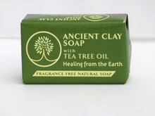 Zion Health Ancient Clay Soap Tea Tree Oil Front