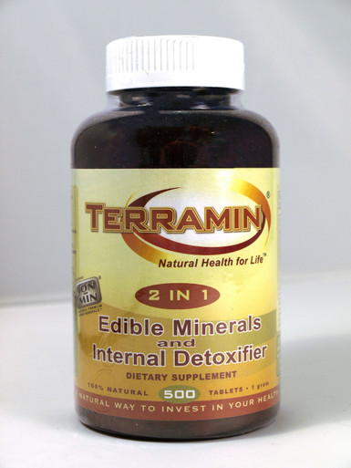 Terramin 500 Tablets Calcium Montmorillonite Clay