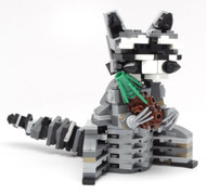 Constructibles Raccoon - LEGO® Parts & Instructions Kit