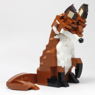 Constructibles Red Fox - LEGO® Parts & Instructions Kit