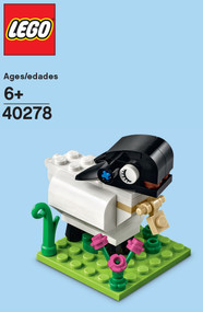 LEGO Lamb Mini Build Parts & Instructions Kit