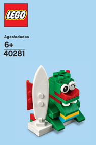 LEGO Surfer Dragon Mini Build Parts & Instructions Kit