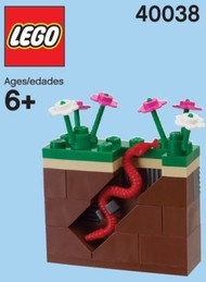 LEGO Earthworm Mini Build Parts & Instructions Kit