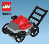 LEGO Lawnmower Mini Build Parts & Instructions Kit