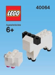 LEGO Sheep & Lamb Mini Build Parts & Instructions Kit