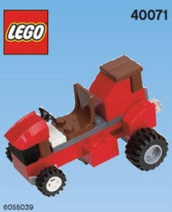 LEGO Riding Lawnmower Mini Build Parts & Instructions Kit