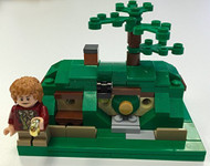 Lego The Hobbit Microscale Bag End Parts & Instructions Kit