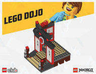 Club LEGO Exclusive 2011 Ninjago Dojo Build w/instructions NEW