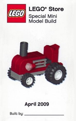 Lego Tractor Mini Build Parts Instructions Kit Constructibles
